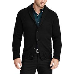 Big & Tall Chaps Regular-Fit Shawl-Collar Cardigan Sweater