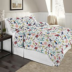 Celeste Home Flannel Duvet Cover Set