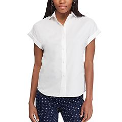 Women's Chaps Cuffed Shirt