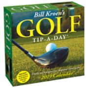 Bill Kroen's Golf Tip-A-Day 2019 Daily Desk Calendar