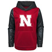 Boys 4-18 Nebraska Cornhuskers Performance Fleece Hoodie