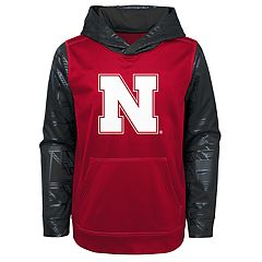 Boys 8-20 Nebraska Cornhuskers Performance Fleece Hoodie