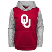 Boys 4-18 Oklahoma Sooners Performance Fleece Hoodie