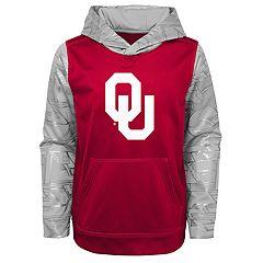 Boys 8-20 Oklahoma Sooners Performance Fleece Hoodie