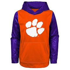 Boys 8-20 Clemson Tigers Performance Fleece Hoodie