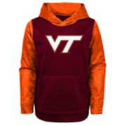 Boys 4-18 Virginia Tech Hokies Performance Fleece Hoodie