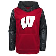 Boys 4-18 Wisconsin Badgers Performance Fleece Hoodie