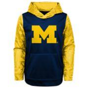 Boys 4-18 Michigan Wolverines Performance Fleece Hoodie