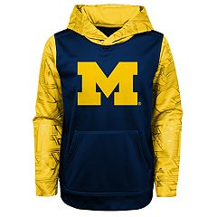Boys 4-18 Michigan Wolverines Performance Fleece Hoodie