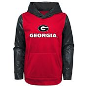 Boys 4-18 Georgia Bulldogs Performance Fleece Hoodie