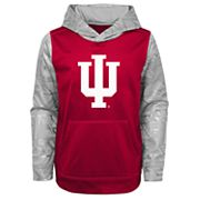 Boys 4-18 Indiana Hoosiers Performance Fleece Hoodie