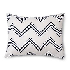 Pointehaven Marseille Ultra Ruched Oblong Throw Pillow