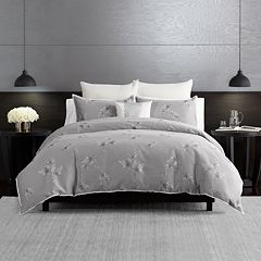 Simply Vera Vera Wang Light Falling Floral 3-piece Duvet Cover Set