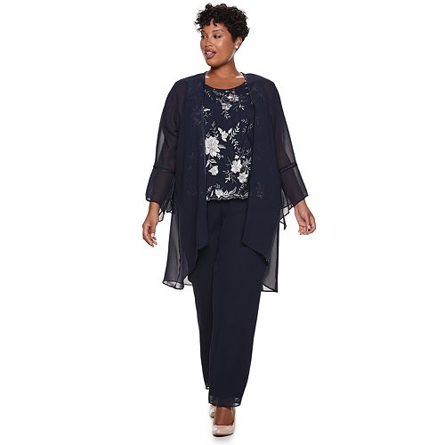 1f71ffb504c Plus Size Le Bos Embroidered Bell Sleeve Top