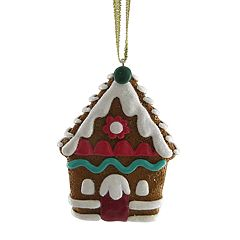 Disney's The Nutcracker and the Four Realms Resin Gingerbread House Christmas Ornament