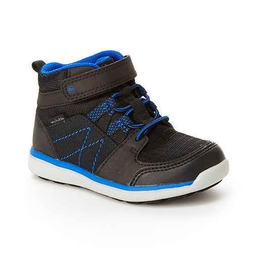 Stride Rite Indigo Preschool Boys' High Top Shoes