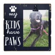 """New View """"My Kids Have Paws"""" 4"""" x 6"""" Clip Frame"""