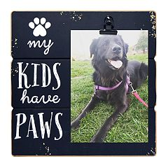 New View 'My Kids Have Paws' 4' x 6' Clip Frame
