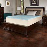 ComforPedic from BeautyRest 2-inch Comfort Choice Gel Flat Soft Mattress Topper
