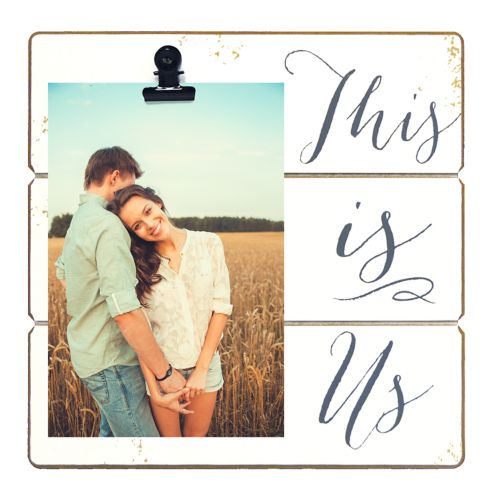 New View This Is Us 4 X 6 Clip Frame