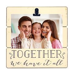 New View 'Together We Have It All' 4' x 6' Clip Frame