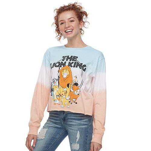 Disney's The Lion King Juniors' Cropped Graphic Tee