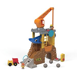 Fisher-Price Little People Work Together Construction Site