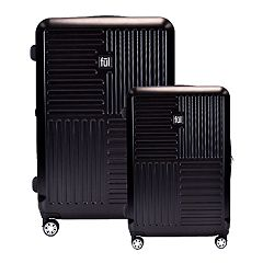 FUL Urban Grid 2-Piece Spinner Luggage Set