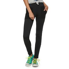 Juniors' Pink Republic High-Waisted Pocket Leggings
