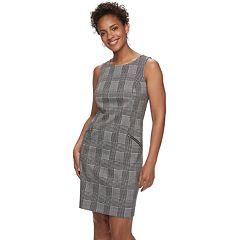 Women's Apt. 9® Zipper Accent Sheath Dress