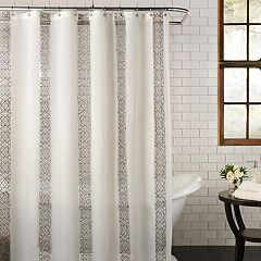 Excell  Waldorf Fabric Shower Curtain