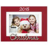 "Malden ""2018"" 4"" x 6"" Christmas Frame"