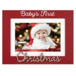 "Malden ""Baby's First"" 4"" x 6"" Christmas Frame"