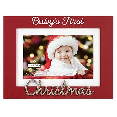 Malden 'Baby's First' 4' x 6' Christmas Frame