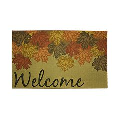 Mohawk® Home Fall Canopy ''Welcome'' Rubber Doormat - 18'' x 30''