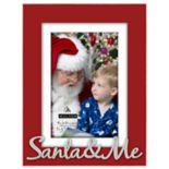 "Malden ""Santa & Me"" 4"" x 6"" Christmas Frame"