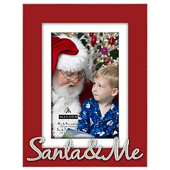 Malden 'Santa & Me' 4' x 6' Christmas Frame
