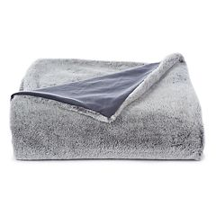 Cuddl Duds Faux Fur Throw