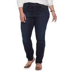 Plus Size SONOMA Goods for Life™ Curvy Skinny Jeans