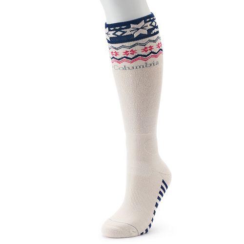 357a5899763 Women s Columbia Wool-Blend Knee High Socks