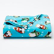 St. Nicholas Square® Print Fleece Throw