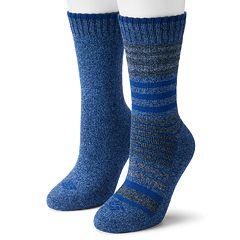 Women's Columbia 2-Pack Stripe Crew Socks
