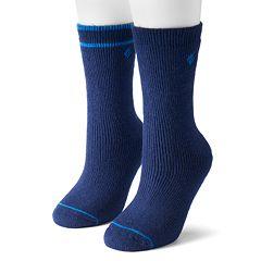Columbia 2-pk. Fleece-Lined Wool Crew Socks - Women