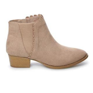 LC Lauren Conrad Dear Women's Ankle Boots