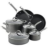 Circulon Elementum Hard-Anodized 10-piece Nonstick Cookware Set