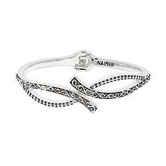 Napier Filigree Hinged Cuff Bracelet