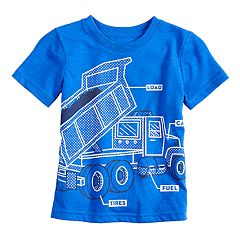 Toddler Boy Jumping Beans® Truck Softest Graphic Tee