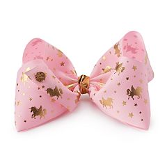 Girls 4-16 JoJo Siwa Unicorn Print Hair Bow