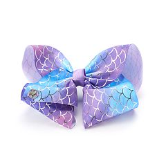 Girls 4-16 JoJo Siwa Mermaid Scales Foil Bow