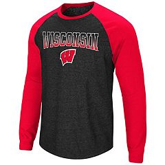Men's Wisconsin Badgers Hybrid II Tee